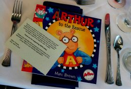 Book authored by Luncheon speaker and thank you note